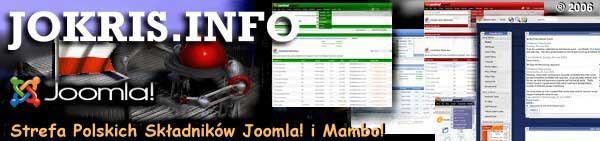 (C) 2018 JOKRIS.INFO - Rozszerzenia, dodatki do Joomla! i Mambo